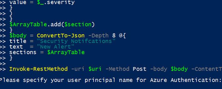 Getting Microsoft Security Alerts in Teams - T-Minus 365